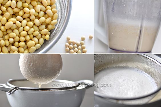 "Homemade Soy Milk – Tricky yet Easy, plus ""yuba"" the uses of the leftover soybean"