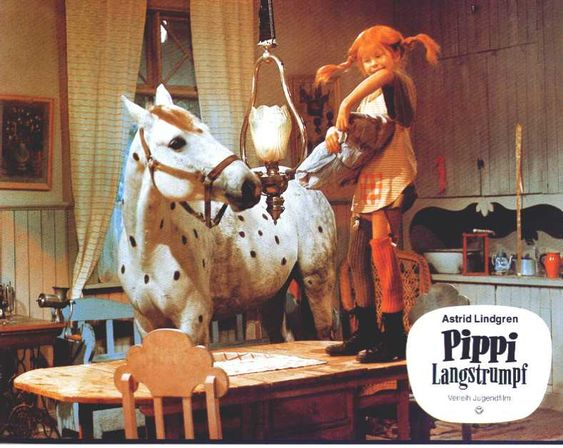 #PippiLongstocking's Villa Kunterbunt inside the kitchen. I used to love this show as a child, so wanted to have her life.