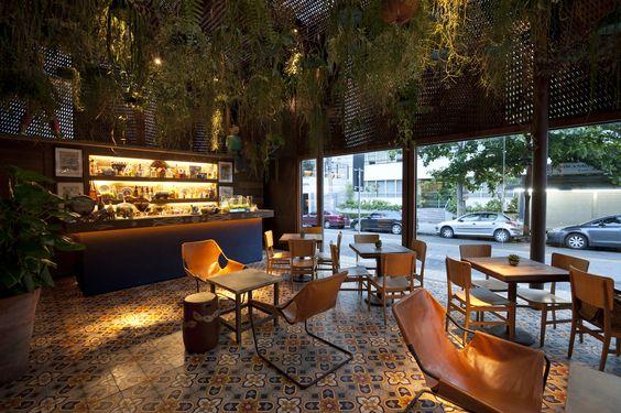 estúdio marcelo rosenbaum / dalva e dito restaurante, jardins são paulo