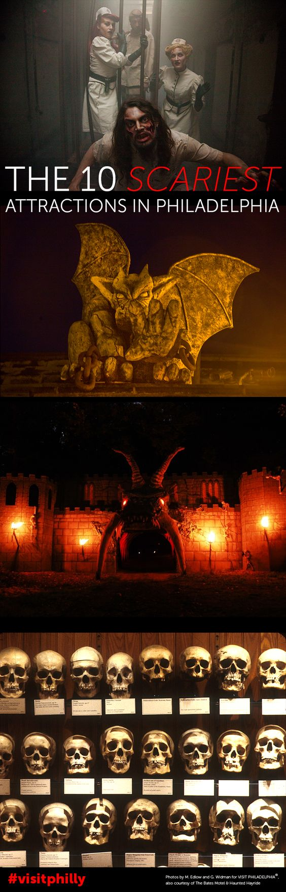 The 10 Scariest Attractions in Philadelphia  for Halloween 2014