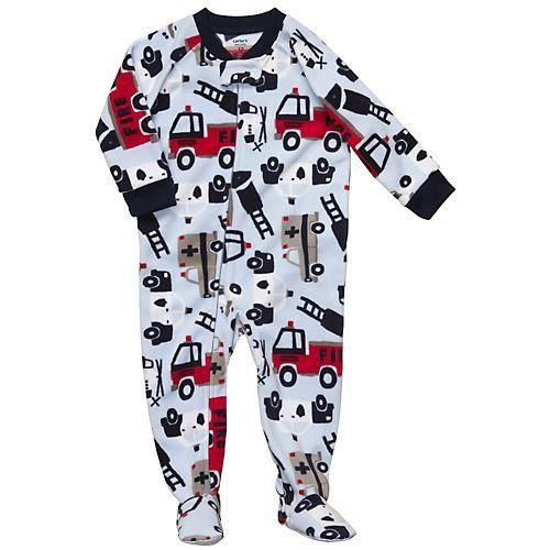 Carter's Toddler Boys Footed Fleece 1 Pc Pajama Sleeper
