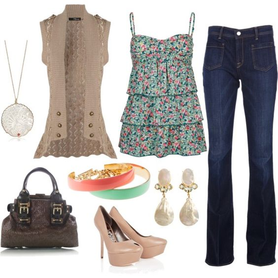 Girly Chic, created by kimbee22 on Polyvore