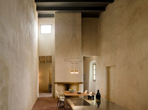 Lampada a sospensione a LED WIREFLOW by Vibia | design Arik Levy