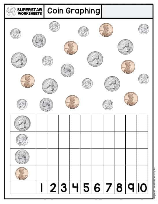 Free Money Worksheets Printable Money Counting Worksheets In 2021 Money Math Worksheets Money Worksheets Kindergarten Money Worksheets Counting dimes worksheets for kindergarten