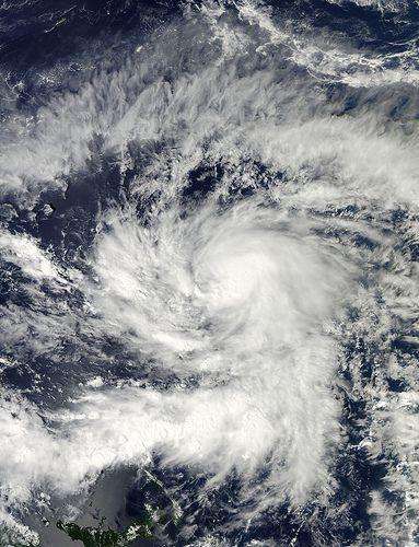 NASA Satellites See Typhoon Bopha Now Heading Toward the Philippines