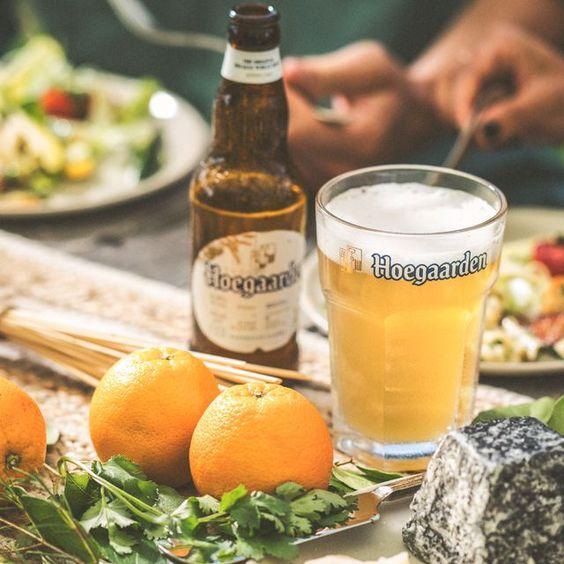bia hoegaarden white sản xuất