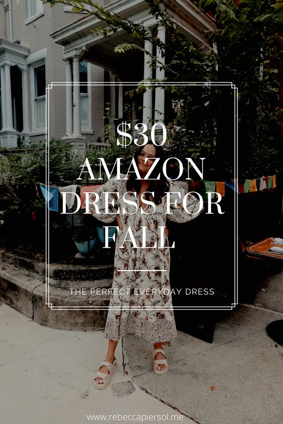 $30 Amazon Dress For Fall