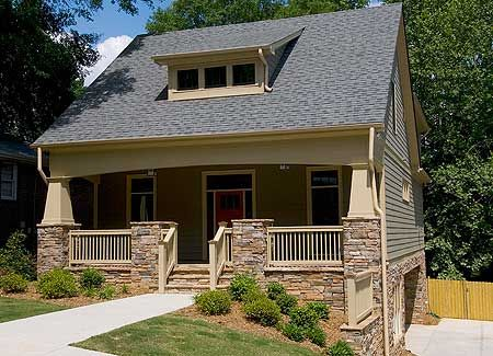 Plan VS  Bungalow   Drive Under Garage   Bungalows  Garage    Bungalow   Drive Under Garage   VS   Bungalow  Cottage  Craftsman  Traditional