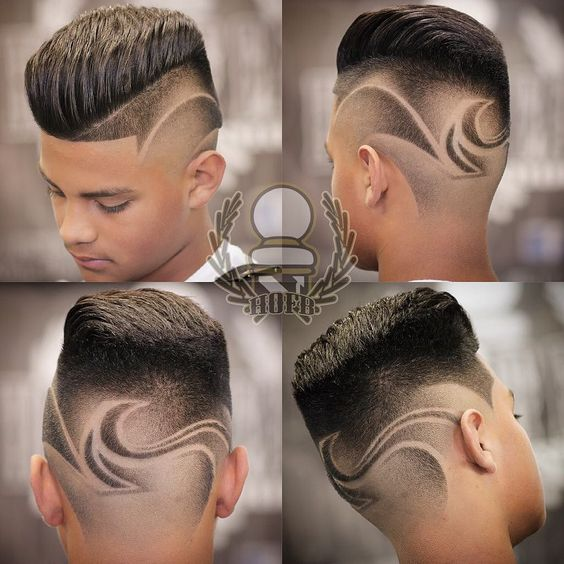 barber hair designs for men - photo #21