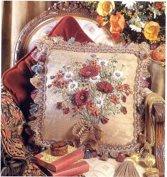 Красивые подушки своими руками