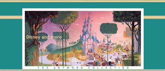 Disneyland and More Art Work - a blog featuring past and present concept artwork for Disney theme parks | www.disneyandmoreartwork.blogspot.com
