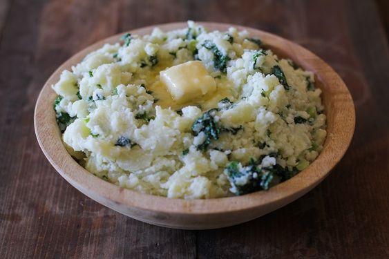 Como fazer purê de batatas irlandês