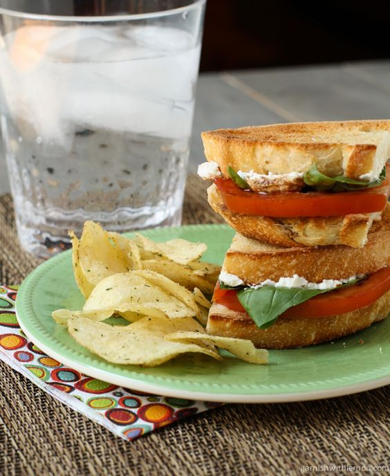 and Goat Cheese Sandwich with Balsamic Drizzle | Recipe | Goat Cheese ...