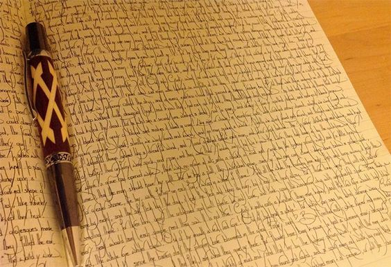 Sauf si vous écrivez vraiment très bien. Dans ce cas, montrez-nous.