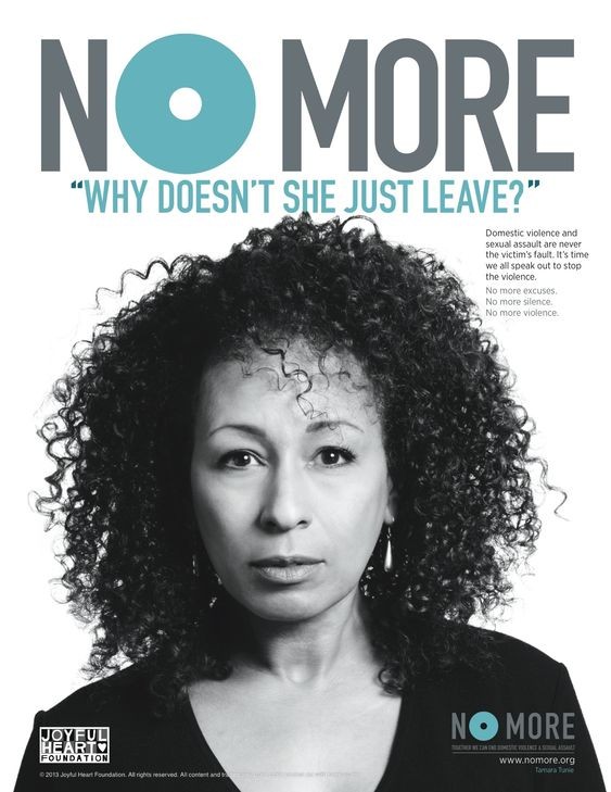 The NO MORE PSA Campaign, spearheaded by the Joyful Heart Foundation in partnership with NO MORE and directed by actress and advocate, Mariska Hargitay, involves more than 50 celebrities and public figures asking bystanders to get involved. #nomore: