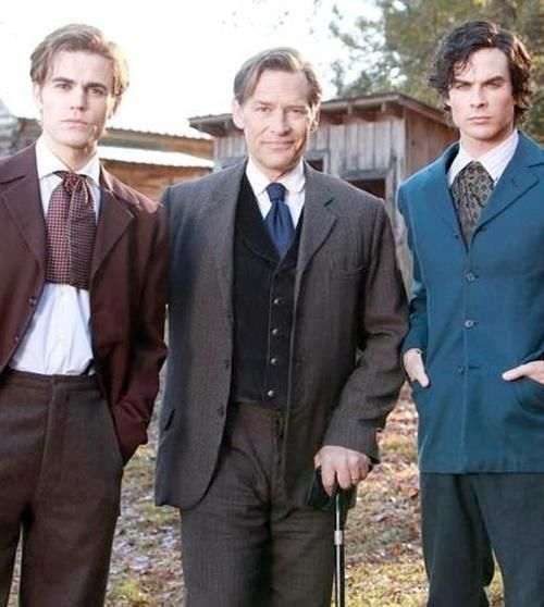 the salvatores 1864. Stefan, Father, and Damon | •1864 ...