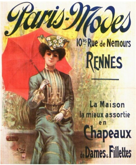 Paris-Modes ~ Charles Tichon