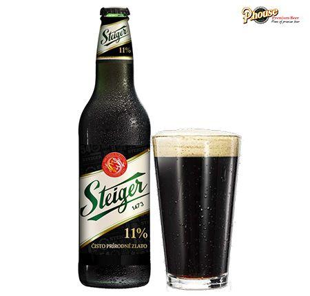 bia Steiger đen chai 500ml