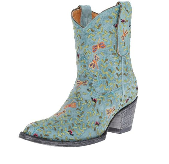 Old Gringo dragon fly ankle boots