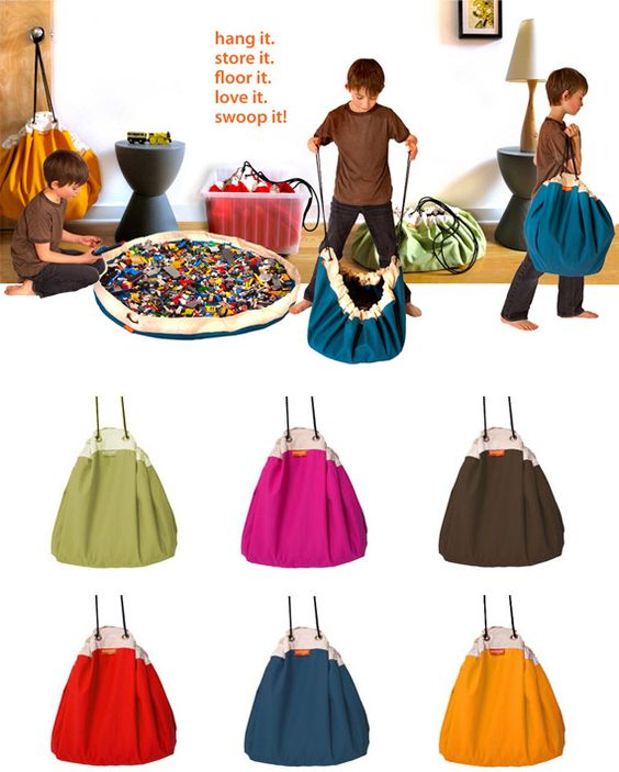 Sac de rangement - Swoopbags http://www.ohsweetbabies.com/toys-swoop-bags.php