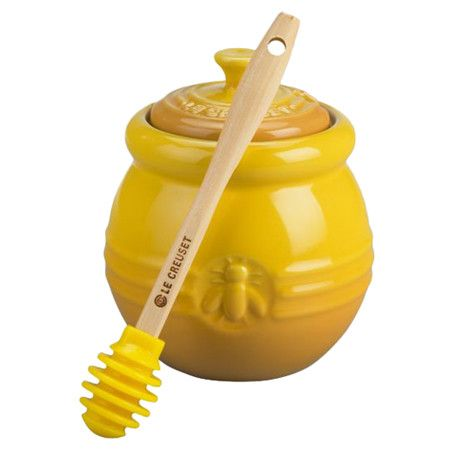 Honey Pot & Dipper Set