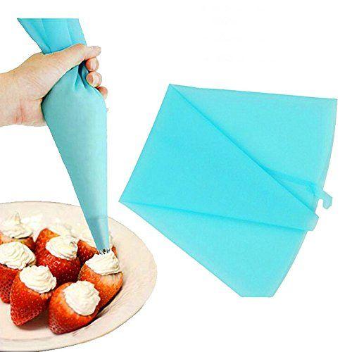 Silicone Reusable Icing Piping Bag Diy Baking Cookie Cake Decorating Bag Diy Cake Decorating Cake Decorating Tools Cake Decorating Tips