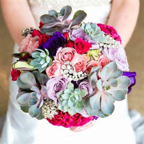Bright Textured Bouquet