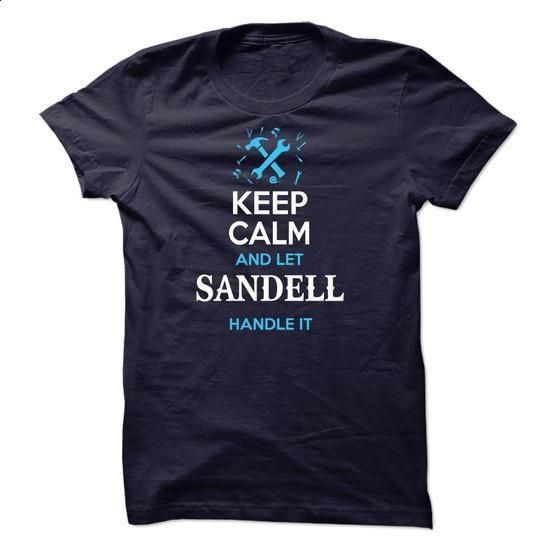 SANDELL-the-awesome - #mens tee #christmas tee. CHECK PRICE => https://www.sunfrog.com/Names/SANDELL-the-awesome.html?68278