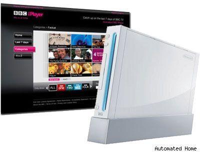 iPlayer on the Wii.
