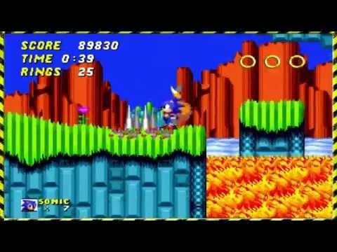 Sonic The Hedgehog 2 Hill Top Zone Walkthrough Full 1080p Youtube Sonic The Hedgehog Hedgehog Sonic