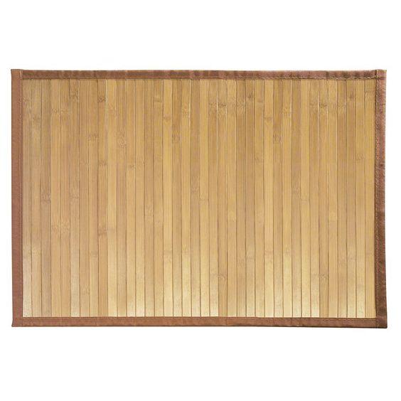 InterDesign 81432EU Formbu Matte, Läufer, bambus Amazonde Küche - läufer für küche