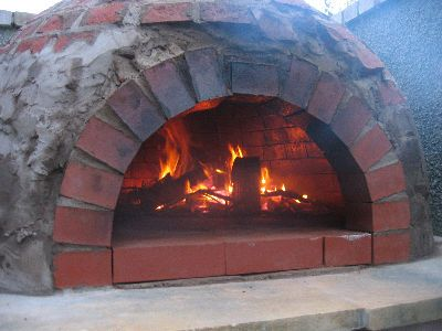 Colin  Julie Owen Home Page - How To Build A Wood Fired Pizza Oven