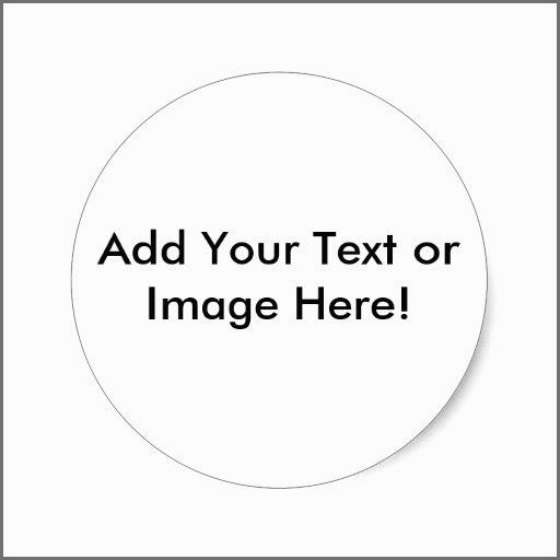 Polaroid Round Adhesive Labels Template Label Templates Printable Label Templates Round Labels
