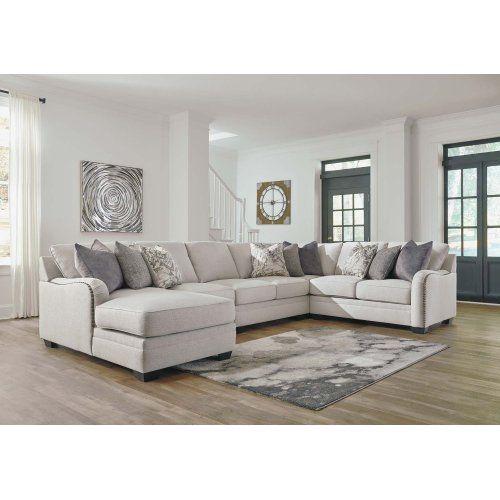 Dellara Chalk 3 Piece Sectional, Ashley Furniture Denver