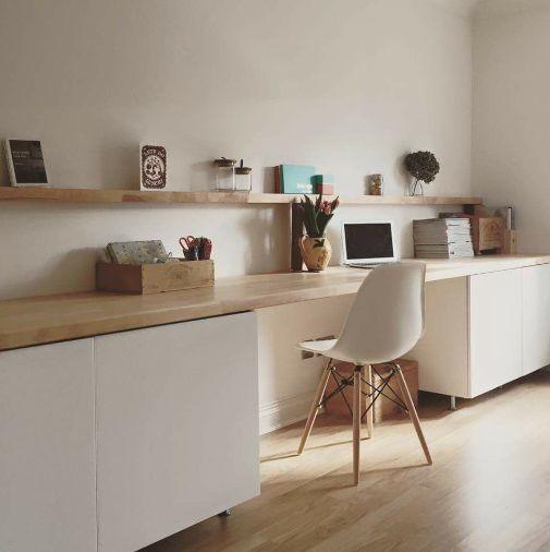 Shelf Over Desk In 2020 Hausburo Schreibtische Regal