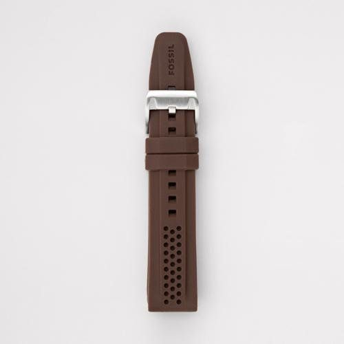 Fossil Silicone Watch Strap - Brown Fossil. $25.00