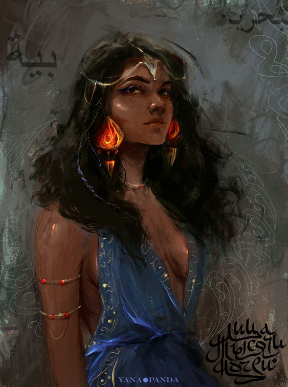 scheherazade, Yana Panda on ArtStation at https://www.artstation.com/artwork/80yAn