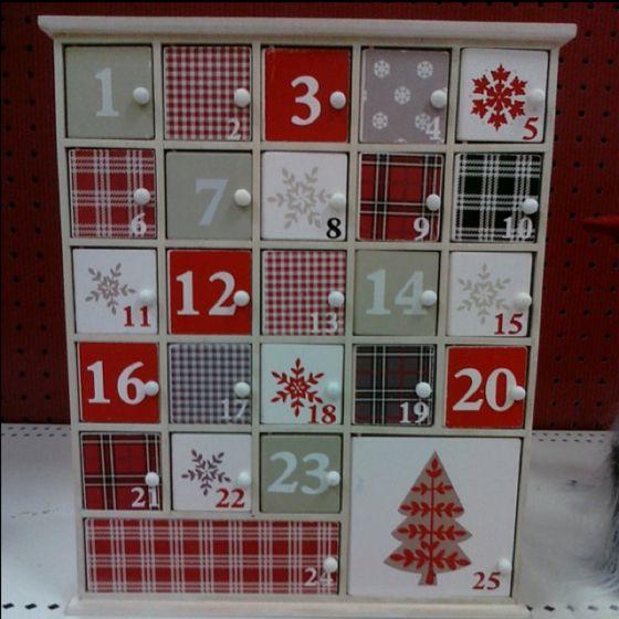 Diy Wooden Advent Calendar : Wooden advent calendar with cute doors diy projects
