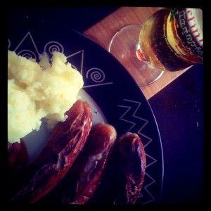 Bratwurst & Mash