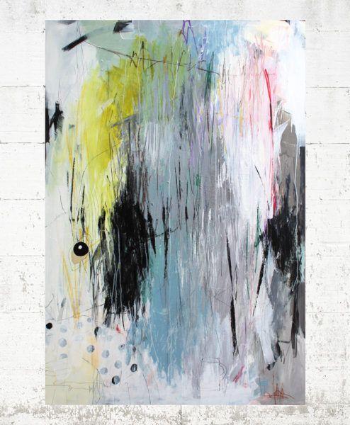 Kaffedate 120x90 Bettina Holst Kunst Ideer Maling Abstrakt