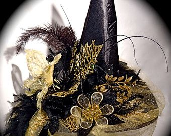Elpheba's Wicked Witch Hat Halloween Costumes by Marcellefinery