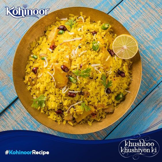 Celebrate the day with some #AaluPoha and family. Get the recipe here: http://bit.ly/1IYb5vn