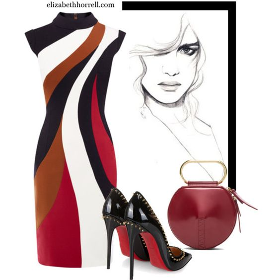 LIZ by elizabethhorrell on Polyvore featuring Christian Louboutin and 3.1 Phillip Lim