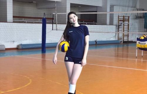 Sabina Altynbekova Foto Instagram Pemain Bola Voli Atlet Putri