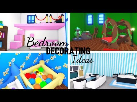 4 Custom Bedroom Design Ideas Building Hacks Roblox Adopt Me Its Sugarcoffee Youtube In 2020 Custom Pet Furniture Cute Bedroom Decor Cute Room Ideas