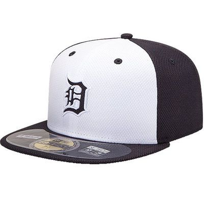 Detroit Tigers New Era Youth Diamond Era BP 59FIFTY Performance Home Fitted Hat…