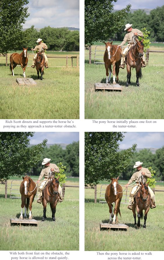 Ponying Over an Obstacle