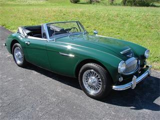 1965 Austin-Healey 3000 Mk III.  Sweet