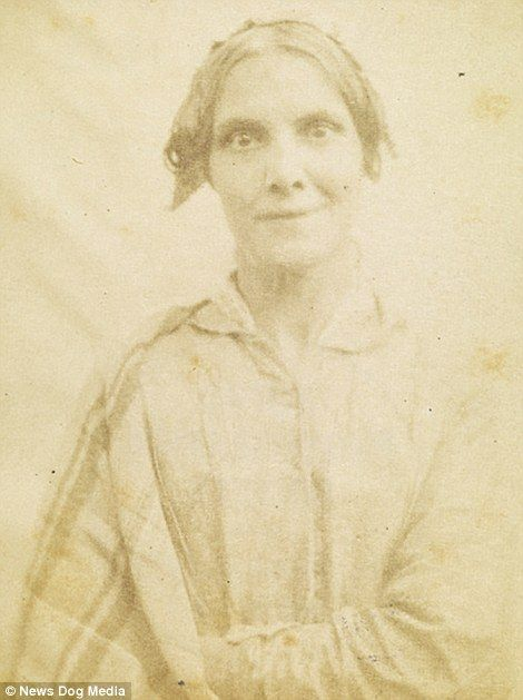 The haunting images were captured by Dr Hugh Welch Diamond, who specialised in treating mental patients