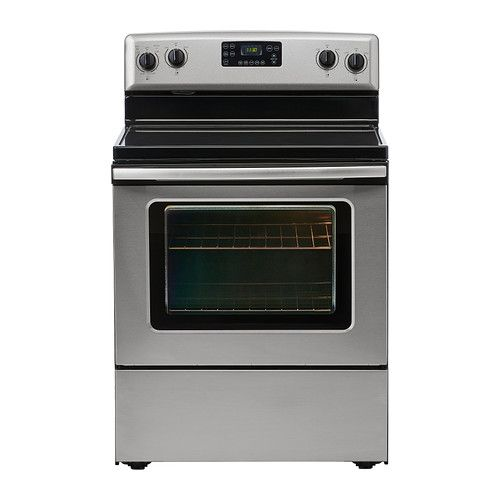 Betrodd Range With Ceramic Cooktop Stainless Steel Ceramics Cleanses And Ovens